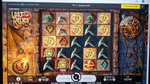 Lost Relics Unibet Casino BIG WIN