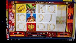 Victorious Unibet Casino especial BIG WIN