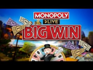 NĀ BIG WIN BEI MONOPOLY LIVE (EVOLUTION GAMING) - 50 € EINSATZ!