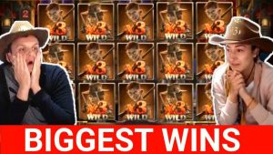 CASINO BIG WIN COMPILATION #1 slotspinner girl win 10800  x6000 from