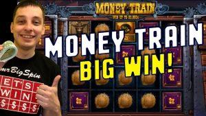 Money Train Slot Big win u kockarnici!