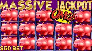 I Broke The Record! MY BIGGEST HANDPAY JACKPOT On PIGGY BANKIN Slot Machine | Season 8 | Episode #21