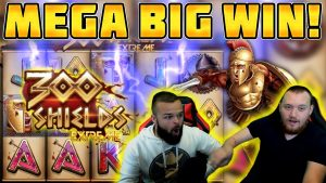MEGA BIG WIN! HUGE WIN on 300 SHIELDS EXTREME Slot Online!