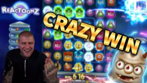HUGE WIN!!! Reactoonz BIG WIN!! – CRAZY WIN on Casino Game