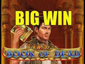 Online kasino 4 euro sázka VELKÁ WIN - Kniha mrtvých BIG WIN