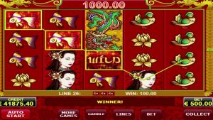 Dragons Pearl slot AMATIC MEGA BIG WIN - 69,800 euro!