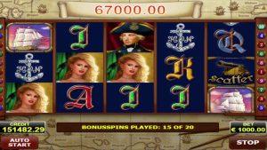 Admiral Nelson casino super big win 276,900 euros!
