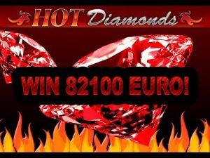 Hot diamonds slot mega win – 82100 EUROS!