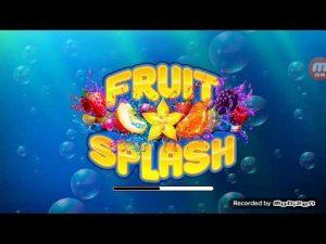 Fruit splash casino big win
