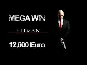 12000 Euro BIG WIN in hitman casino slot