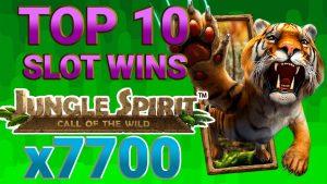 🎰 Nagy nyeri a Jungle Spirit nyerőgépet | Mennyit lehet nyerni az 🚨ONLINECASINOPOLICE🚨 KOMPILÁCIÓn