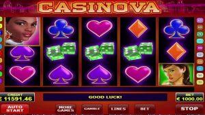 Casinova AMATIC оюн SUPER WIN! 121,300 Euro!