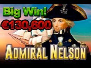 Слот Адмирала Нельсона онлайн SUPER WIN € 130.600
