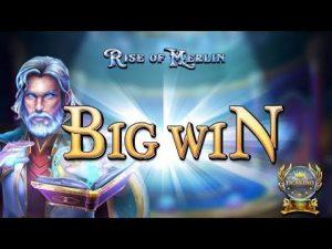 BIG WIN BEI RISE OF MERLIN (PLAY'N GO) – 4€ EINSATZ!