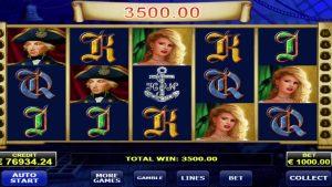 Admiral Nelson Online casino slot MEGA WIN - € 132,600. AMATIC!