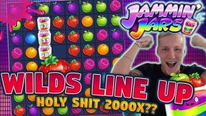 MEGA WIN !!! NEJVĚTŠÍ WIN?!? JAMMIN JARS BIG WIN - Obrovské výhry na kasinových hrách