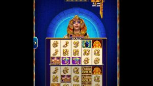"""CLEOPATRA GOLD Video Slot Casino Game with a """"BIG WIN"""" FREE SPIN BONUS"""