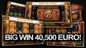 Golden Ark casino slot big win – 40,500 Euros!