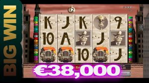 Chicago casino slot  BIG WIN €38,000 – 5 scatter game!!