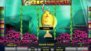 * ABSOLUTE RECORD! * Big Catch online casino slot SUPER WIN  – 20,000 euro!