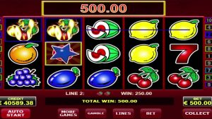 Hot scatter online casino slot by Amatic provider MEGA WIN 119300