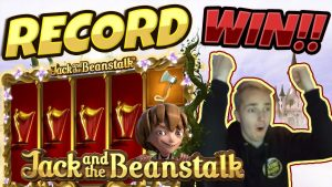 RECORD WIN!!! Jack And The Beanstalk BIG WIN – CasinoDaddy HUGE WIN on Casino Game