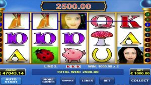 """The legend slot: """"lovely lady"""" big win – €93600"""