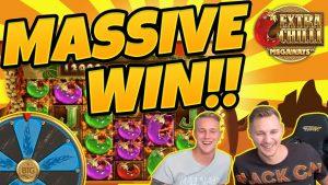 MASIVNÍ VÍTĚZ !! Extra Chilli BIG WIN - Epické vítězství v kasinových hrách od Casinodady LIVE STREAM