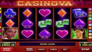 Casinova สล็อตออนไลน์ชนะที่ยิ่งใหญ่ - € 51,400