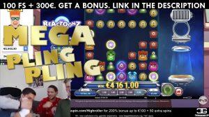 Grande vitória de Reactoonz. Vitória mega do casino em linha de Reactoonz
