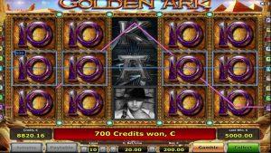 Golden Ark slot machine by Novomatic SUPER BIGWIN –  €18,900