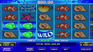 """Fresh online slot – """"Wild shark"""" by Amatic game provider BIGWIN – 152400"""