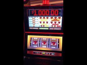 BLAZING 777'S $1 SLOT MACHINE LIVE PLAY NEAR JACKPOT AND BIG WIN