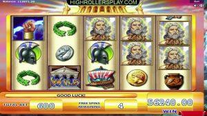 ZeusオンラインカジノスロットMEGA WIN –€60,000