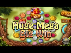 Obrovský MEGA BIG WIN BEI HONEY RUSH (PLAY'N GO) - 5 € EINSATZ!