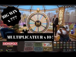 MONOPOLY LIVE CASINO EN LIGNE SUPER BIG WIN !!!