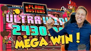 BIG WIN!!! Flame Busters Huge Win – Casino Games – free spins (Online Casino)
