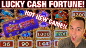 🤑 CASH FORTUNE!! 🤑 ARISTOCRAT's HOT NEW SLOT MACHINE! | BIG WIN BONUS! 💵👑