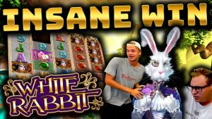 MASSIVE WIN on White Rabbit!