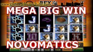 MEGA BIG WIN NOVOMATICS ONLINE OVO CASINO