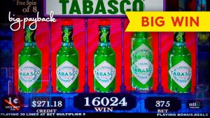 AWESOME, YEAH! Tabasco Brand Slot – BIG WIN, ALL FEATURES!
