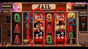 Online slots – Desperados Wild, double retrigger HUGE win