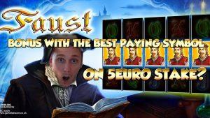 BIG WIN!!!! Faust – Casino Games – bonus round (Casino Slots)