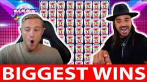 Biggest Streamers Wins #7 ROSHTEIN JAMMIN JARS INSANE WIN (big win)