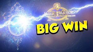 STOR VINN !!!! Magic Mirror delux 2 Stor gevinst - Casino - Bonusrunde (Online Casino)