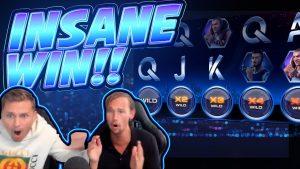 RECORD WIN!!!! Drive Netent BIG WIN – INSANE WIN on Casino Game