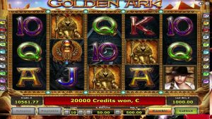 STOR VINN € 100,000 2 i Golden Ark Video slot, XNUMX bonusspill med retiger!