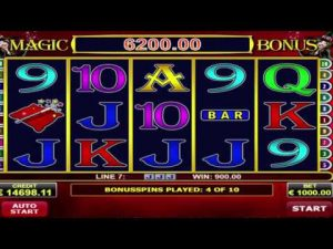 Magic scatter online casino slot MEGA WIN – €130,400