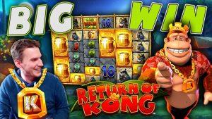 BIG WIN on Return of Kong Megaways – £10 Bet!
