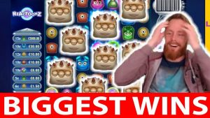Casino big win #21 David Labowsky REACTOONZ CRAZY BIG WIN